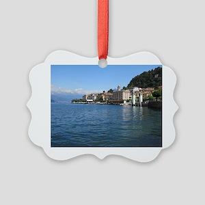 Lake Como Picture Ornament