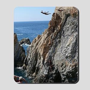 La Quebrada Cliff Divers Mousepad