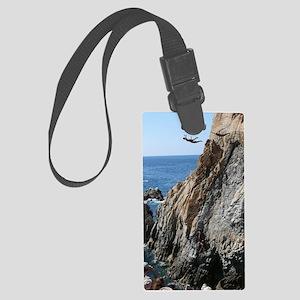 La Quebrada Cliff Divers Large Luggage Tag