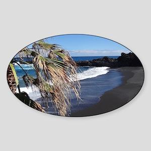 La Palma Sticker (Oval)