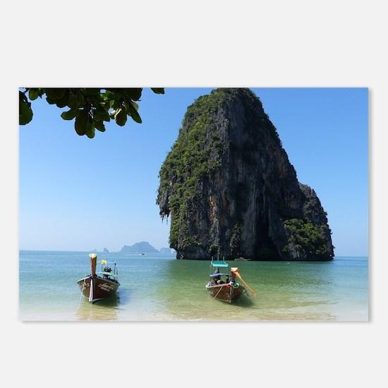 Krabi beach Postcards (Package of 8)