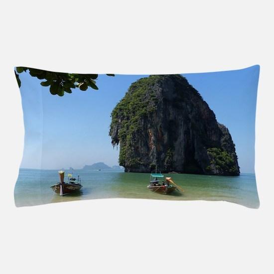 Krabi beach Pillow Case