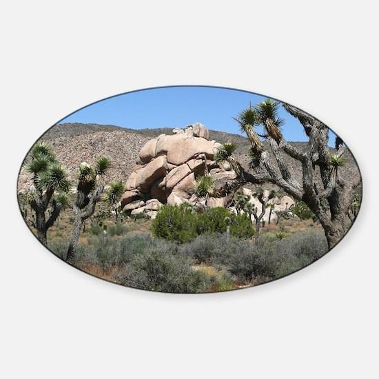 Joshua Tree National Park Sticker (Oval)