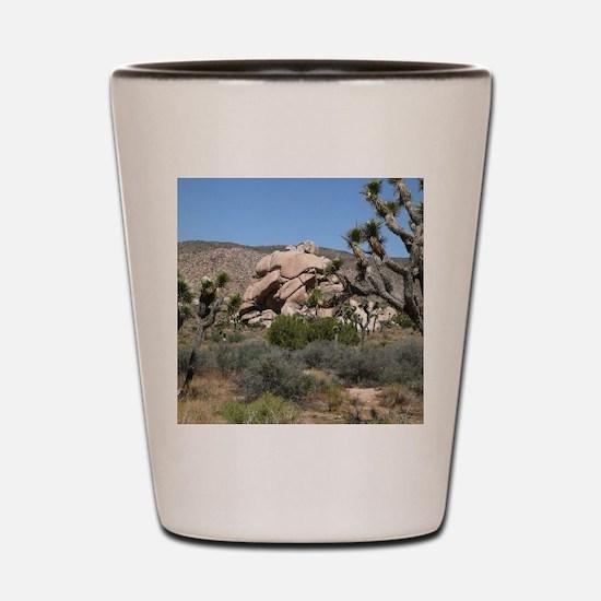Joshua Tree National Park Shot Glass