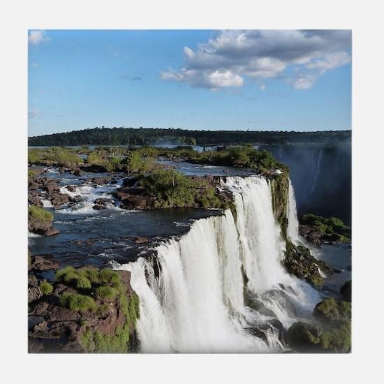 Iguazu Falls Tile Coaster