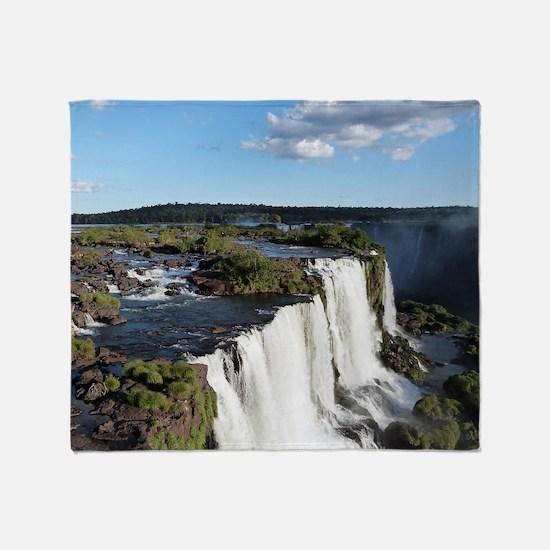 Iguazu Falls Throw Blanket
