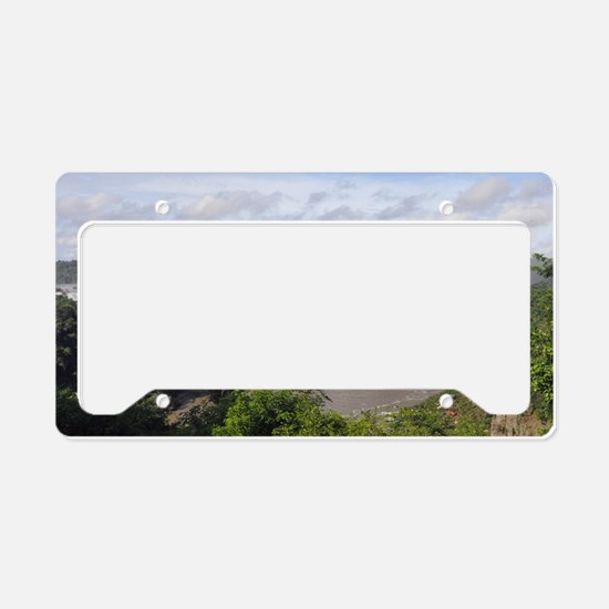 Iguazu Falls License Plate Holder
