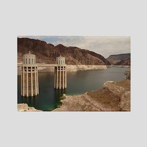 Hoover Dam Rectangle Magnet