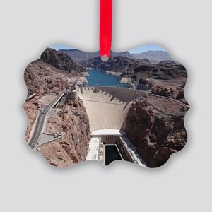 Hoover Dam Picture Ornament