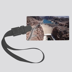 Hoover Dam Large Luggage Tag