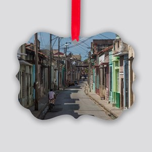 Havana streets Picture Ornament
