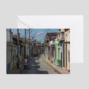 Havana streets Greeting Card