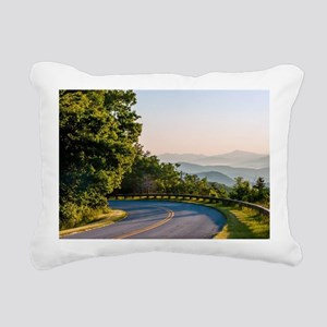 Great Smoky Mountains Rectangular Canvas Pillow