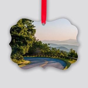 Great Smoky Mountains Picture Ornament