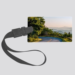 Great Smoky Mountains Large Luggage Tag