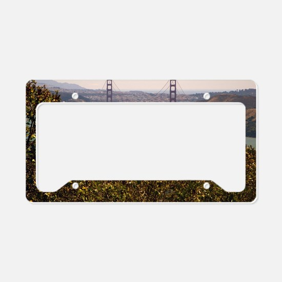 Golden Gate Bridge License Plate Holder