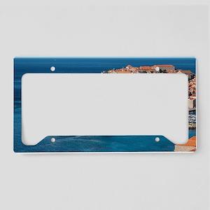 Dubrovnik License Plate Holder