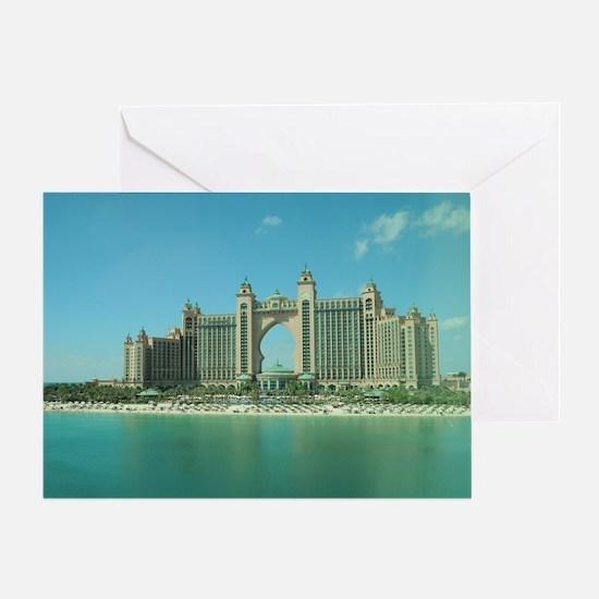 Dubai Atlantis Greeting Card