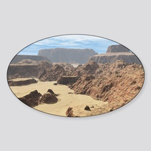 Death Valley Sticker (Oval)