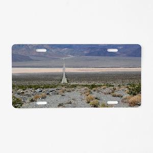 Death Valley Aluminum License Plate