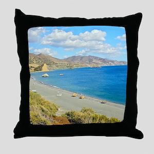 Crete Throw Pillow