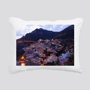 Cinque Terre Rectangular Canvas Pillow