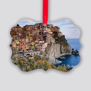 Cinque Terre Picture Ornament