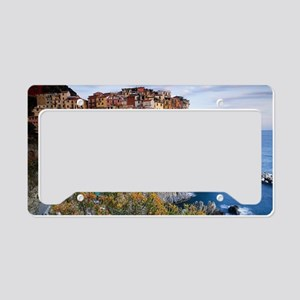 Cinque Terre License Plate Holder
