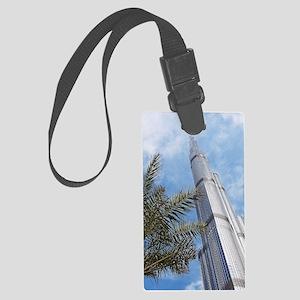 Burj Khalifa Large Luggage Tag