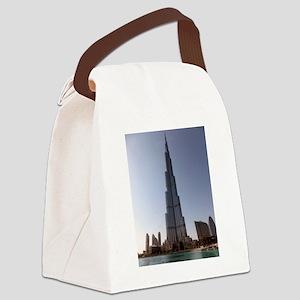 Burj Khalifa Canvas Lunch Bag