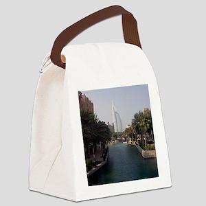 Burj Al Arab Canvas Lunch Bag