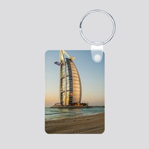 Burj Al Arab Aluminum Photo Keychain