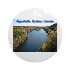 Aiguebelle during Automn Ornament (Round)