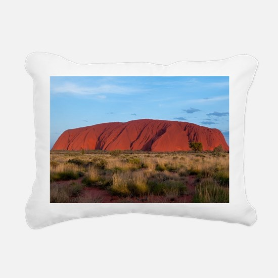 Ayers Rock Rectangular Canvas Pillow