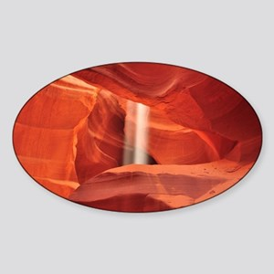 Antelope Canyon Sticker (Oval)