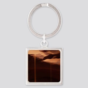 Antelope Canyon Square Keychain