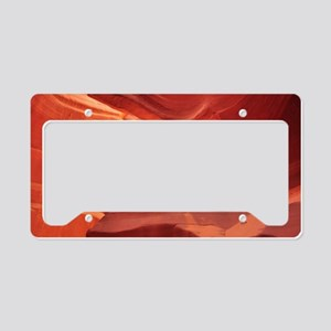 Antelope Canyon License Plate Holder