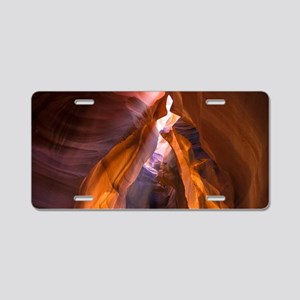 Antelope Canyon Aluminum License Plate