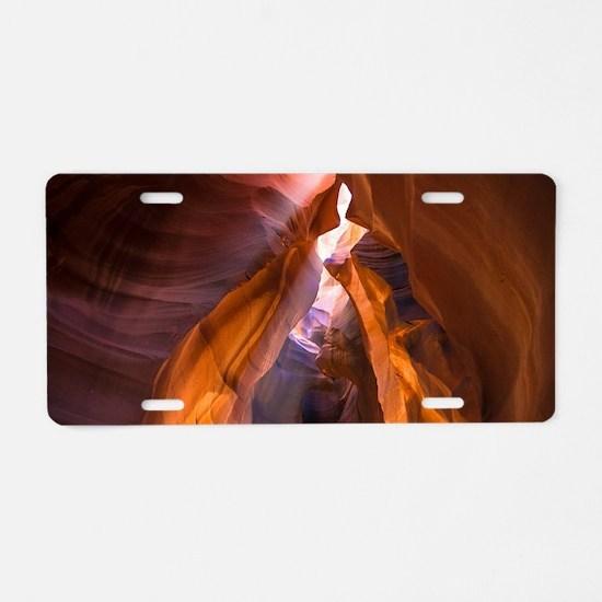 Antelope Canyon Aluminum License Plate