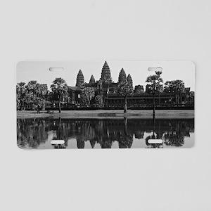 Angkor Wat Aluminum License Plate