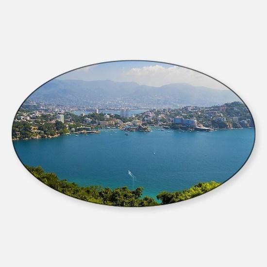 Acapulco Sticker (Oval)