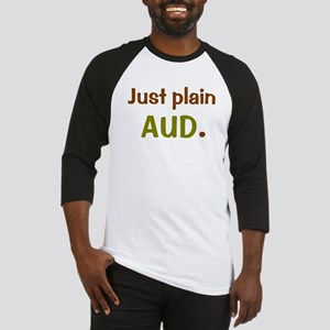 Just Plain Aud. Baseball Jersey