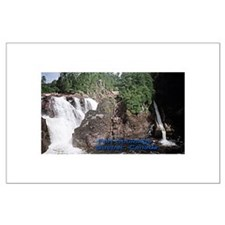 Fort Coulonge Waterfalls Large Poster