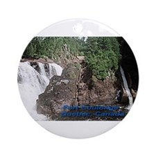 Fort Coulonge Waterfalls Ornament (Round)