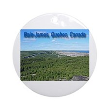 Baie James Ornament (Round)