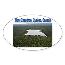 Mont Chaudron Oval Sticker