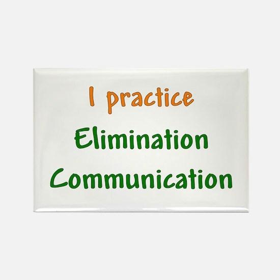 I Practice Elimination Communication Rectangle Mag
