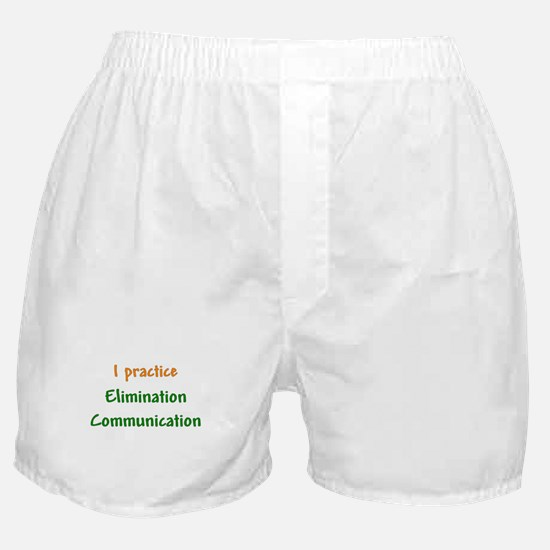 I Practice Elimination Communication Boxer Shorts