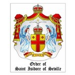 Order of St. Isidore of Seville Small Poster