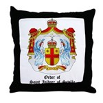 Order of St. Isidore of Seville Throw Pillow